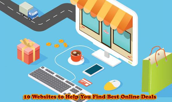 10 Websites to Help You Find Best Online Deals