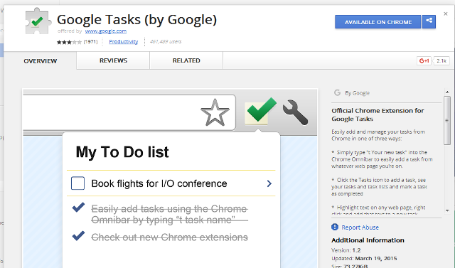 Google Tasks (by Google)