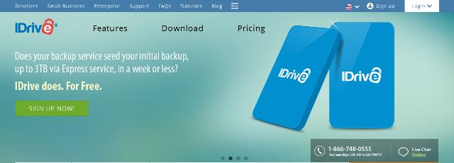 IDrive- Online Backup