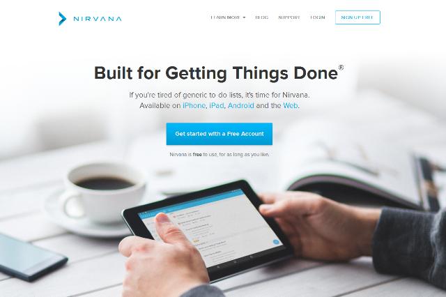 Nirvana Online Task Management tools