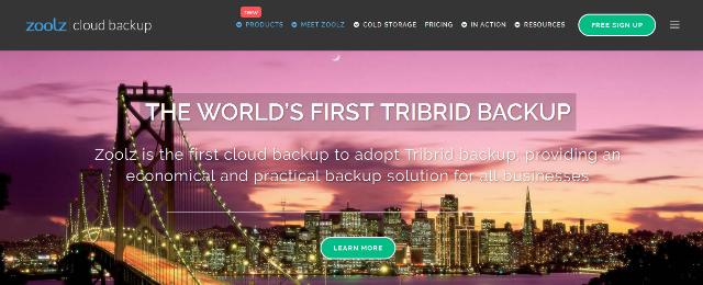 Zoolz - Cloud Backup Solution