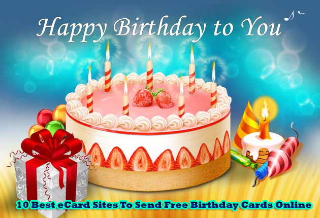 Send Free Birthday Cards Online