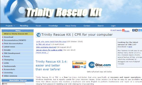 rescue disks
