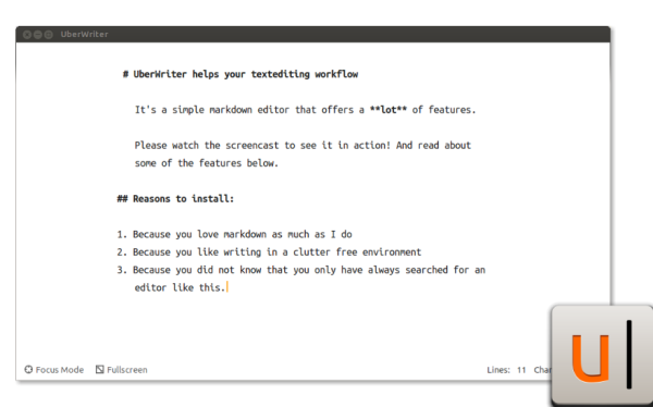 Linux Markdown Editors